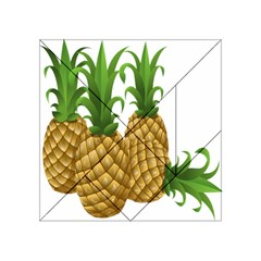 Pineapples Tropical Fruits Foods Acrylic Tangram Puzzle (4  x 4 )