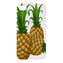 Pineapples Tropical Fruits Foods Apple iPhone 4/4S Premium Hardshell Case