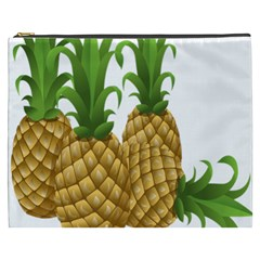 Pineapples Tropical Fruits Foods Cosmetic Bag (XXXL)