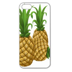 Pineapples Tropical Fruits Foods Apple Seamless iPhone 5 Case (Clear)