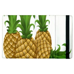 Pineapples Tropical Fruits Foods Apple iPad 2 Flip Case