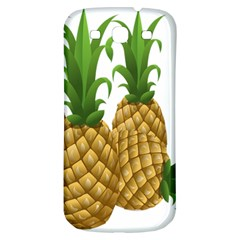 Pineapples Tropical Fruits Foods Samsung Galaxy S3 S III Classic Hardshell Back Case
