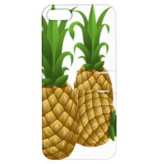 Pineapples Tropical Fruits Foods Apple iPhone 5 Hardshell Case with Stand