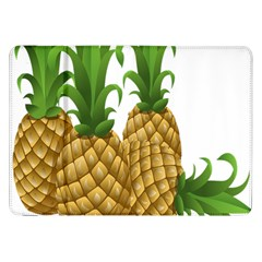 Pineapples Tropical Fruits Foods Samsung Galaxy Tab 8.9  P7300 Flip Case