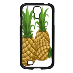 Pineapples Tropical Fruits Foods Samsung Galaxy S4 I9500/ I9505 Case (Black)