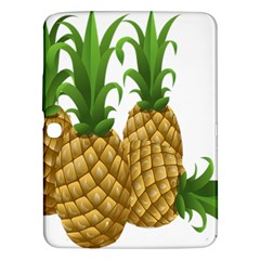 Pineapples Tropical Fruits Foods Samsung Galaxy Tab 3 (10.1 ) P5200 Hardshell Case