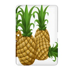 Pineapples Tropical Fruits Foods Samsung Galaxy Tab 2 (10.1 ) P5100 Hardshell Case
