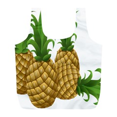 Pineapples Tropical Fruits Foods Full Print Recycle Bags (L)