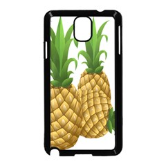 Pineapples Tropical Fruits Foods Samsung Galaxy Note 3 Neo Hardshell Case (Black)