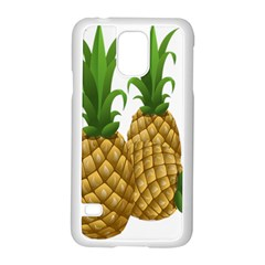 Pineapples Tropical Fruits Foods Samsung Galaxy S5 Case (White)