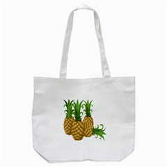 Pineapples Tropical Fruits Foods Tote Bag (White)