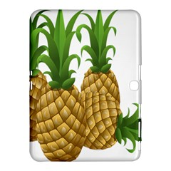 Pineapples Tropical Fruits Foods Samsung Galaxy Tab 4 (10 1 ) Hardshell Case
