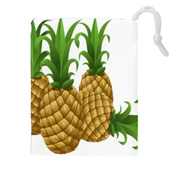 Pineapples Tropical Fruits Foods Drawstring Pouches (xxl)