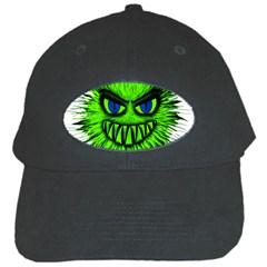 Monster Green Evil Common Black Cap