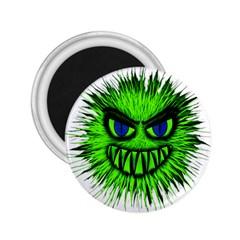 Monster Green Evil Common 2.25  Magnets