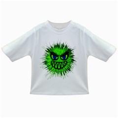 Monster Green Evil Common Infant/Toddler T-Shirts