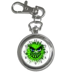 Monster Green Evil Common Key Chain Watches