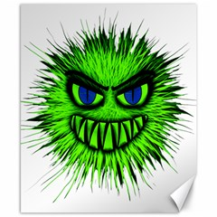 Monster Green Evil Common Canvas 8  x 10