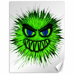 Monster Green Evil Common Canvas 18  x 24
