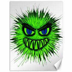 Monster Green Evil Common Canvas 36  x 48
