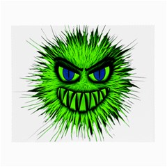 Monster Green Evil Common Small Glasses Cloth (2-Side)