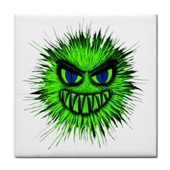 Monster Green Evil Common Face Towel