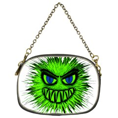 Monster Green Evil Common Chain Purses (One Side)