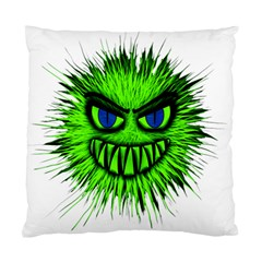 Monster Green Evil Common Standard Cushion Case (Two Sides)