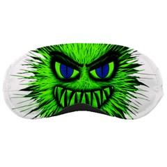 Monster Green Evil Common Sleeping Masks
