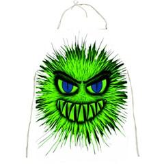 Monster Green Evil Common Full Print Aprons
