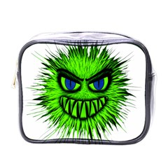 Monster Green Evil Common Mini Toiletries Bags