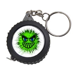 Monster Green Evil Common Measuring Tapes