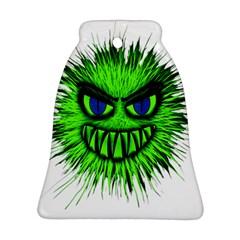 Monster Green Evil Common Ornament (Bell)