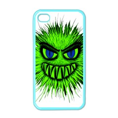 Monster Green Evil Common Apple iPhone 4 Case (Color)