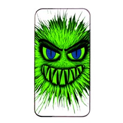 Monster Green Evil Common Apple iPhone 4/4s Seamless Case (Black)