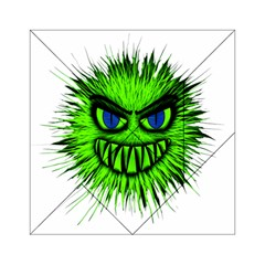 Monster Green Evil Common Acrylic Tangram Puzzle (6  x 6 )