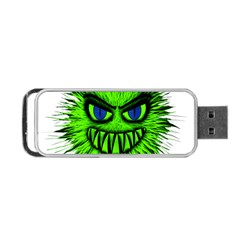 Monster Green Evil Common Portable USB Flash (Two Sides)