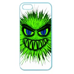 Monster Green Evil Common Apple Seamless iPhone 5 Case (Color)