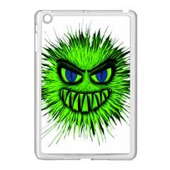 Monster Green Evil Common Apple iPad Mini Case (White)