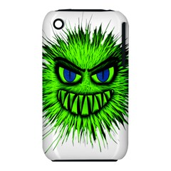 Monster Green Evil Common Iphone 3s/3gs