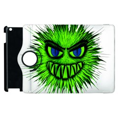 Monster Green Evil Common Apple iPad 2 Flip 360 Case