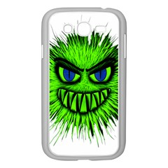 Monster Green Evil Common Samsung Galaxy Grand DUOS I9082 Case (White)