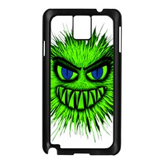 Monster Green Evil Common Samsung Galaxy Note 3 N9005 Case (Black)