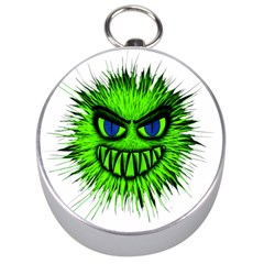 Monster Green Evil Common Silver Compasses