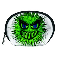 Monster Green Evil Common Accessory Pouches (Medium)