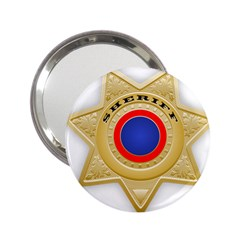 Sheriff S Star Sheriff Star Chief 2.25  Handbag Mirrors