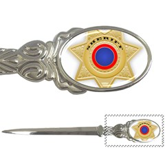 Sheriff S Star Sheriff Star Chief Letter Openers