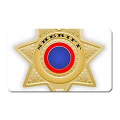 Sheriff S Star Sheriff Star Chief Magnet (rectangular)