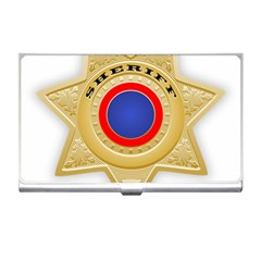 Sheriff S Star Sheriff Star Chief Business Card Holders