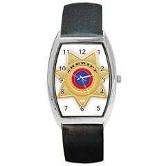 Sheriff S Star Sheriff Star Chief Barrel Style Metal Watch